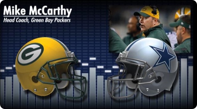 Audio - Mike McCarthy press conference with Dallas Cowboys media - 2013-2014 Dallas Cowboys schedule - button