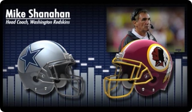 Audio - Mike Shanahan press conference with Dallas Cowboys media - 2013-2014 Dallas Cowboys schedule - Dallas Cowboys at Washington Redskins