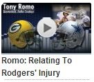 Audio - Tony Romo press conference with Green Bay Packers media - 2013-2014 Dallas Cowboys schedule