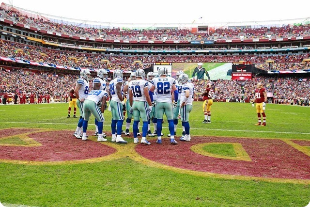 COWBOYS REDSKINS GAME 15 RECAP - Dallas fights back to defeat Washington, 24-23 - Dallas Cowboys offense vs Washington Redskins