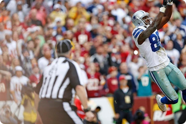 COWBOYS REDSKINS POSTGAME GUTCHECK - Dallas Cowboys fight to keep their 2013-2014 season alive - Another spectacular TD catch by Dez Bryant