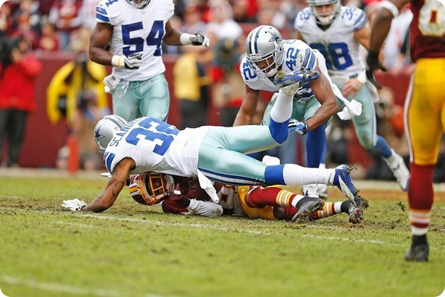 COWBOYS REDSKINS POSTGAME GUTCHECK - Dallas Cowboys fight to keep their 2013-2014 season alive - Orlando Scandrick