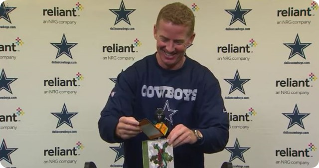 COWBOYS @ REDSKINS PRIMER - Jason Garrett press conference - 2013 2014 Dallas Cowboys vs. Washington Redskins game 15 - Thursday