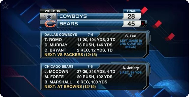 COWBOYS VS. BEARS POSTGAME - Press conferences and NFL highlights video - Dallas Cowboys at Chicago Bears - 2013-2014 NFL Season – Game 13 of 16