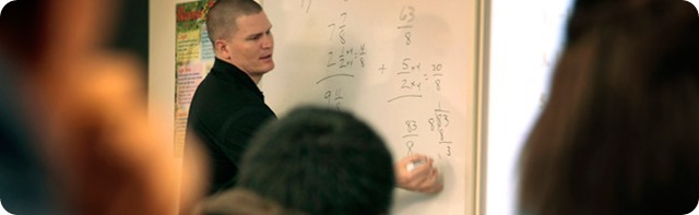 Dallas Cowboys QB Jon Kitna to donate his game check to Lincoln High School - John Kitna teaching math - Dallas Cowboys roster 2013 2014 - Dallas Cowboys