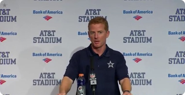 DALLAS COWBOYS vs PHILADELPHIA EAGLES POSTGAME - Jason Garrett press conference - 2013 2014 Dallas Cowboys vs. Philadelphia Eagles game 16