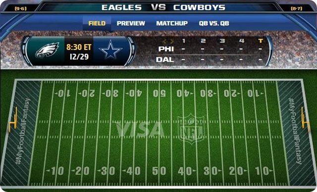 gametrax - dallas cowboys vs. philadelphia eagles - 2013-2014 Dallas Cowboys schedule - eagles vs. cowboys - cowboys vs. eagles
