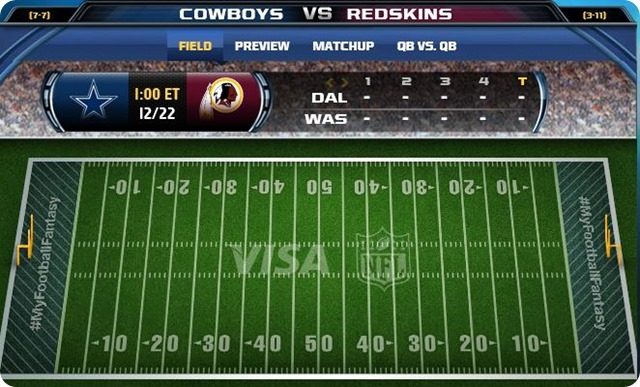 gametrax - dallas cowboys @ washington redskins - 2013-2014 Dallas Cowboys schedule - dallas cowboys vs. washington redskins - redskins cowboys - cowboys redskins