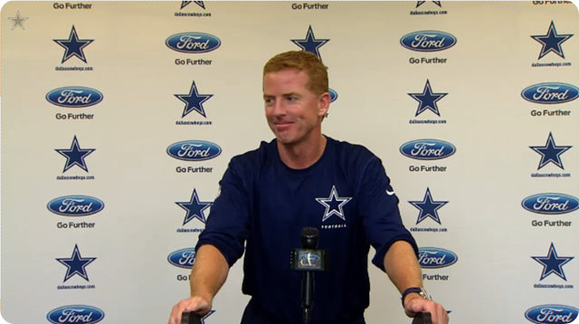 JASON GARRETT PRESS CONFERENCE -2013 Dallas Cowboys vs. Chicago Bears | Dallas Cowboys schedule 2013-2014