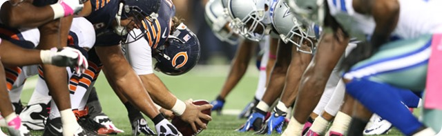 NFL MNF GAMEDAY RESOURCES - 2013-2014 Dallas Cowboys vs. Chicago Bears - Monday Night Football - Bears Cowboys 2013