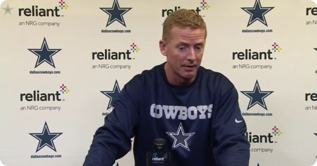 POST GAME FILM REVIEW - COWBOYS VS. PACKERS - Jason Garrett press conference - Gameday film game tape review - button