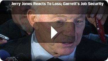 POSTGAME INTERVIEW VIDEO - Jerry Jones stands by his support for Jason Garrett - Watch Video