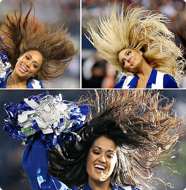 RAIDERS AND BRAIDERS - Dallas Cowboys create a hair raising event on Thanksgiving Day inside AT&T Stadium - Dallas Cowboys schedule 2013 2014