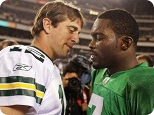 REPORT FULL OF WHAT-IF'S - Aaron Rodgers might not face the Dallas Cowboys - Rodgers in love with Vick - Dallas Cowboys vs. Green Bay Packers