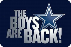 The Boys Are Back website logo - Dallas Cowboys news - Dallas Cowboys schedule - Dallas Cowboys - Dedicated to TRUE BLUE fans of the Dallas Cowboys