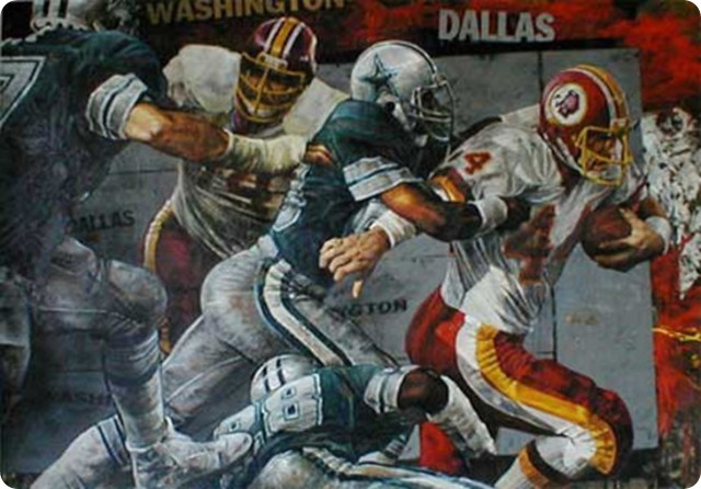 THE COWBOYS – REDSKINS RIVALRY CONTINUES - DAL WAS RIVALRY - RIVALRY DALLAS COWBOYS WASHINGTON REDSKINS