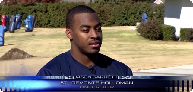 The Jason Garrett Show - DeVonte Holloman with Mickey Spagnola - Dallas Cowboys vs. Washington Redskins -  2013-2014 Dallas Cowboys schedule - NFL Dallas Cowboys schedule 2013 2014