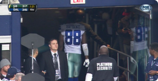 TOO PAINFUL TO WATCH - Dez Bryant explains why he walked off the field - Dallas Cowboys vs. Green Bay Packers - Dez Bryant crying cry cries