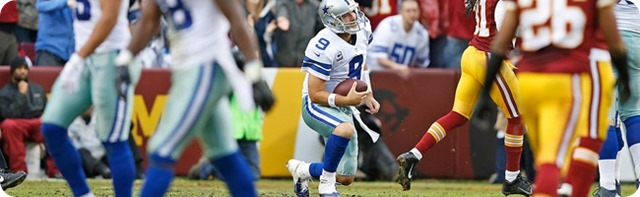 TWISTS AND TWEAKS - Tony Romo back pain doesn't stop late game surge against Redskins - MRI today