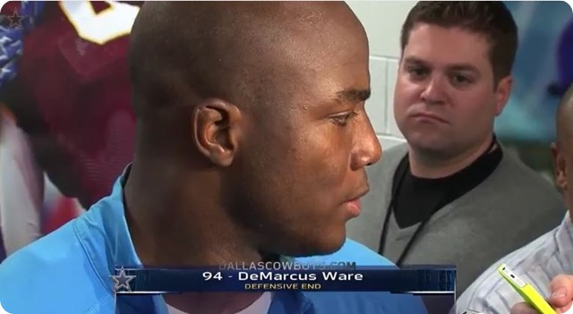 "Watch Video - DeMarcus Ware ""Knows For A Fact"" that he'll be a disruptive force - 2013 2014 Dallas Cowboys schedule 2013 2014"