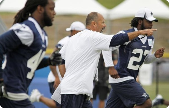 Dallas Cowboys special teams coordinator Rich Bisaccia - 2013 2014 Dallas Cowboys coaching staff - Instrumental in development of Dwayne Harris and Dan Bailey