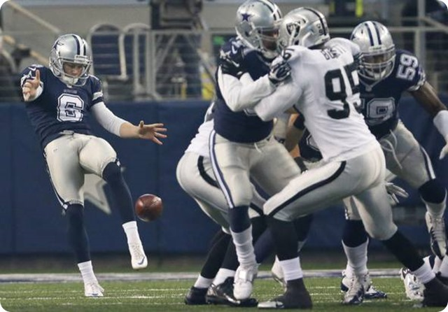 EXCLUSIVE RIGHTS - Dallas Cowboys punter Chris Jones
