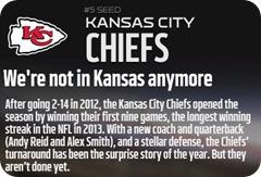 GAMEDAY RESOURCES - Kansas City Chiefs - 2013 2014 NFL Playoffs 2013 2014 Wildcard Weekend