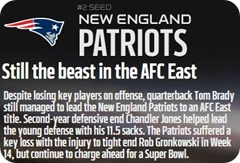 GAMEDAY RESOURCES - New England Patriots - 2013 2014 NFL Playoffs 2013 2014 Divisional Round