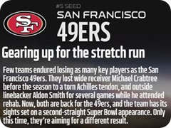 GAMEDAY RESOURCES - San Francisco 49ers - 2013 2014 NFL Playoffs 2013 2014 Wildcard Weekend