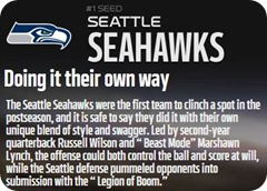 GAMEDAY RESOURCES - Seattle Seahawks - 2013 2014 NFL Playoffs 2013 2014 Divisional Round