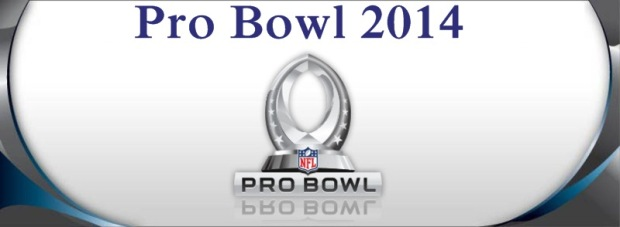 NFL Pro Bowl 2014 - New NFL All-Star draft - New NFL Pro Bowl draft 2014 on NFL Network - 2014 NFL Pro Bowl Draft - Team Sanders - Team Rice