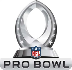 NFL Pro Bowl 2014 - New NFL All-Star game - New NFL Pro Bowl 2014 - 2014 NFL Pro Bowl Draft - NFL Pro Bowl logo - Team Sanders - Team Rice