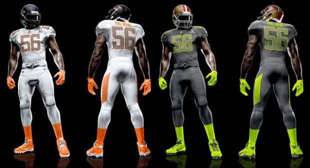 New NFL Pro Bowl uniforms - NFL Pro Bowl 2014 2015 - NFL All-Star Game - New Nike NFL Pro Bowl uniforms