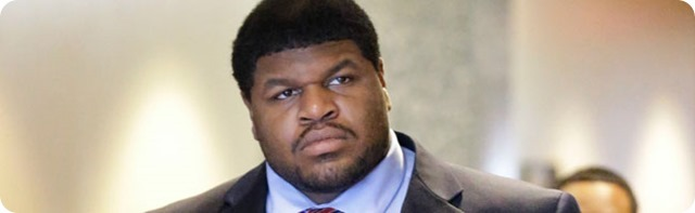 PONDERING PRISON OR PROBATION - Ex-Cowboy Josh Brent awaits sentencing for intoxication manslaughter of Jerry Brown Jr. - Dallas Cowboys 2013 2014