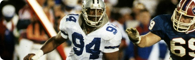 PRO FOOTBALL HALL OF FAME - Dallas Cowboys defensive lineman Charles Haley a finalist for the fifth time - Dallas Cowboys living legend