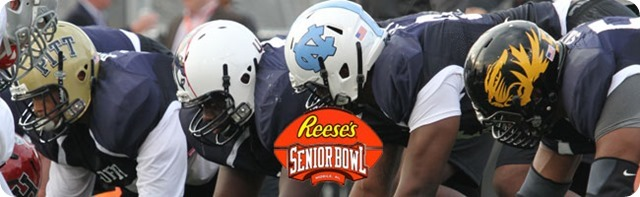 ROAD TO THE 2014 NFL DRAFT - Senior Bowl 2014 - Checking out defensive linemen is the top priority