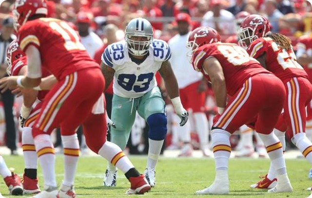 Unrestricted - Dallas Cowboys defensive end Anthony Spencer