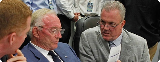 2014 NFL COMBINE REPORT - Dallas Cowboys VP Stephen Jones discusses team draft needs, salary cap, and contracts