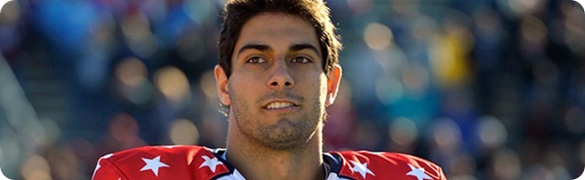 BREAKING OUT OF SHADOWS - Eastern Illinois QB Jimmy Garoppolo wants the opportunity to live up to Tony Romo comparisons - 2014 2015 NFL DRAFT 2014 2015