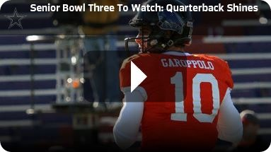 BREAKING OUT OF SHADOWS - Eastern Illinois QB Jimmy Garoppolo wants the opportunity to live up to Tony Romo comparisons