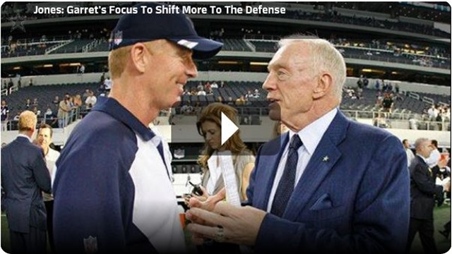 COORDINATING THE COORDINATORS - Dallas Cowboys coach Jason Garrett's focus shifting as Scott Linehan takes the offensive reins