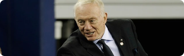 Jerry Jones reaffirms his faith in Jason Garrett; Focusing on players - Dallas Cowboys owner general manager Jerry Jones will not fire Jason Garrett