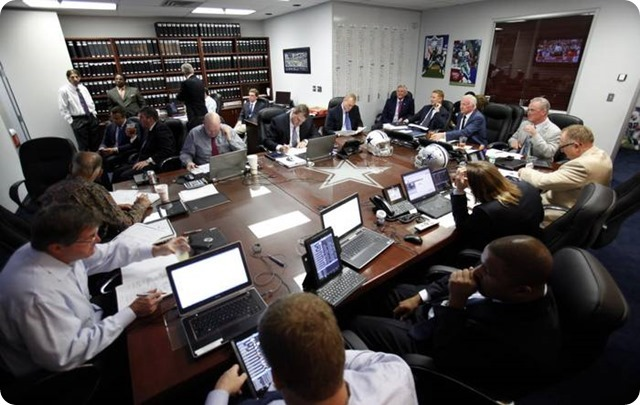 ROAD TO THE 2015 SUPER BOWL - What the 2014-2015 Dallas Cowboys need to reach Super Bowl XLIX - Dallas Cowboys NFL Draft war room