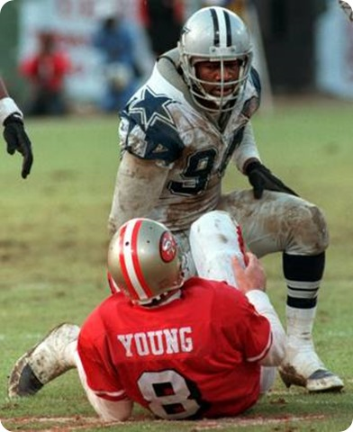 SHAME BY THE FAME - Former Dallas Cowboys DE Charles Haley worthy of Pro Football Hall of Fame induction - The Boys Are Back 2014