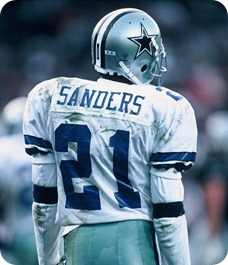 Dallas Cowboys CB Deion Sanders - The Boys Are Back blog