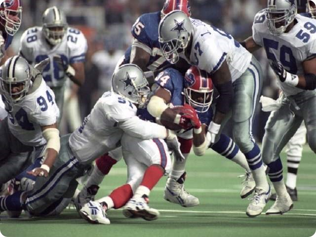 Dallas Cowboys lost one bona-fide player they should have kept, Ken Norton Jr. in first year of NFL free agency Stopping Thurman Thomas in Super Bowl - The Boys Are Back website 2014