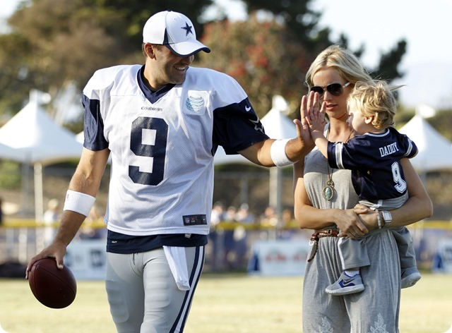 IT'S ANOTHER (COW)BOY - Dallas Cowboys QB Tony Romo and wife Candice have second son, Rivers Romo - The Boys Are Back website 2014