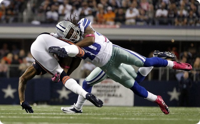 IT'S PAYDAY FOR Danny MCCRAY - Now former Dallas Cowboys special teams ace signs one-year deal with Bears - Dallas Cowboys free agency agent