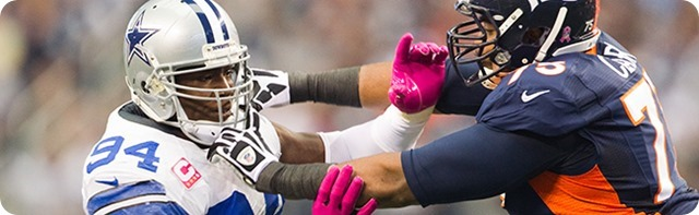 SILVER LINING IN SIGNING - Former Dallas Cowboy DeMarcus Ware to saddle up with Broncos - The Boys Are Back website 2014