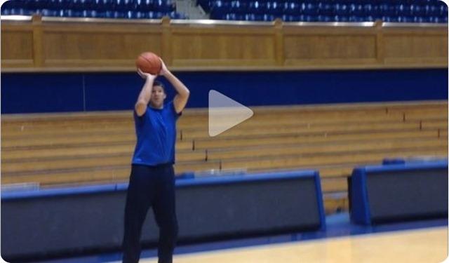 Tony Romo Jason Garrett shooting hoops at Duke North Carolina game - The Boys Are Back website 2014